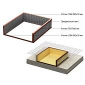 Рама для бетонирования доков (уравнительных платформ)