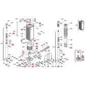 Набор сальников (уплотнителей) для гидравлики шлагбаума FAAC 620 std
